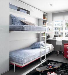 #lietras #abatibles. Dormitorio Juvenil Niko