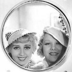 Joan Blondell and Glenda Farrell