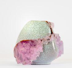Lukas Wegworth's Crystallisation Collection | Crystals & broken vases