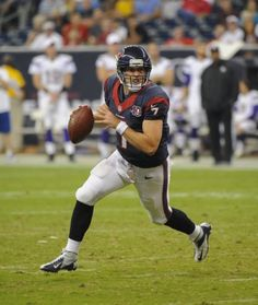 New starting quarterback for the Texans, Case Keenum!