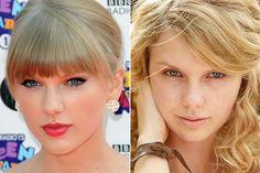 Taylor Swift is one of two country celebs to have done a photo shoot without makeup for People magazine.