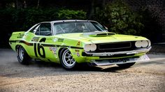 1970 Dodge Challenger Trans-Am Sam Posey
