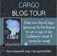 The #Cargo by #JenCastleberry blog tour starts on May 19th, 2016! Repin this photo and follow us (@FFBC Tours) on Pinterest to get extra entries: www.rafflecopter....? ***Remember to enter the repin link in the rafflecopter!***