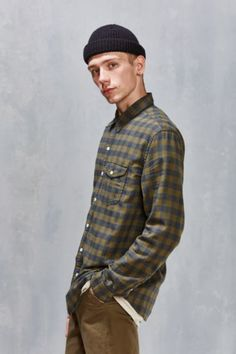 CPO Grindle Gigham Button-Down Shirt - Urban Outfitters