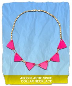 ASOS Plastic Spike Collar Necklace