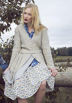 Ravelry: Womans Cardigan pattern by Lea Petäjä