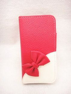 Wallet Bowknot Bow Girl Cute lovely Flip Pouch Cover Card Holder PU Leather Skin Case Cover for (Samsung Galaxy S4 Mini I9190 I9192 I9195, rose(dark pink)) wilsontse http://www.amazon.com/dp/B00JEGG0C8/ref=cm_sw_r_pi_dp_d8-Itb1PEKXM8NK8