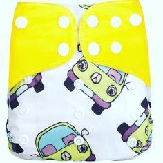 Modern Cloth Nappy. OSFM Pocket nappy.