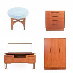 A few pieces of bedroom furniture we have in right now, more on the website too #bedroom #bedroomdecor #bedroomgoals #bedroomideas… Mid Century Bedroom, Mid Century House, Modern Decor, Mid-century Modern, Contemporary, Decorating Tips, Decorating Your Home, Bedroom Ideas, Bedroom Decor