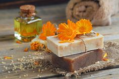 Top Best Herbs for Natural Soap making and Chamomile Tea Soap Recipes with Chamomile Flowers by Kelly Cable