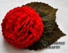 Stubbornly Crafty: DIY Flower Corsage Tutorial