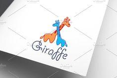 Giraffe   Logo Template by REDVY on @creativemarket