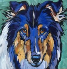 Kat Corrigan: Paint!: July 21, Ryder #1~