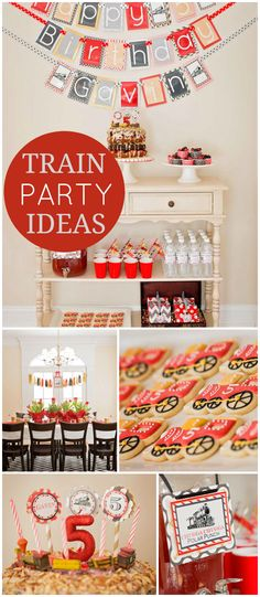 Love vintage trains? You'll want to see this fantastic party! See more party…