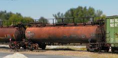 GATX Tank train. The rust bucket winner 2015. Weathered by Jeff Witney.