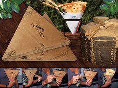 cia do crepe Food Menu Design, Food Truck Design, Creperia Ideas, Food Packaging, Packaging Design, Crepe Cafe, Pancake Designs, Pizza Box Design, Stall Decorations