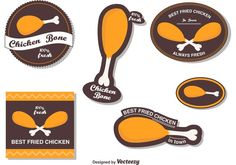 Fried Chicken Vector Labels - https://www.welovesolo.com/fried-chicken-vector-labels/?utm_source=PN&utm_medium=welovesolo59%40gmail.com&utm_campaign=SNAP%2Bfrom%2BWeLoveSoLo