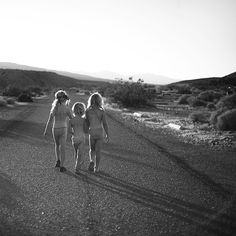 3 sisters together on the road of life