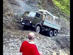 The most dangerous Roads in Tusheti 2009 (Georgia) Dangerous Roads, Georgia, Monster Trucks