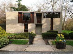 Esherick house, Chestnut Hill, Pennsylvania. 1960. Louis Kahn