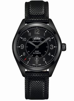I like the black watch. Hamilton Khaki all black. 42 mm case, 80 hours power reserve movement is pretty exclusive for price 999USD no competition !