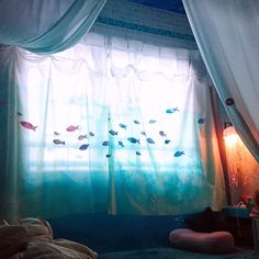 Ocean Room, House Rooms, My Room, Colorful Interiors, Interior Styling, Room Inspiration, Interior And Exterior, Room Decor, Child Room