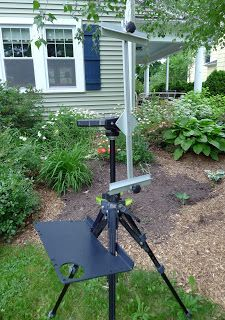 Lightweight Plein Air Easel For Watercolor Painting