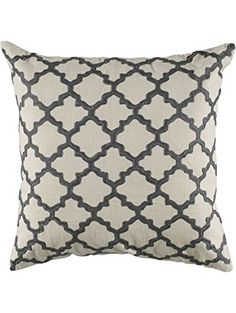 manhattan silver beaded pillow easy to decorate with throw pillows pinterest manhattan pillows and grey fabric
