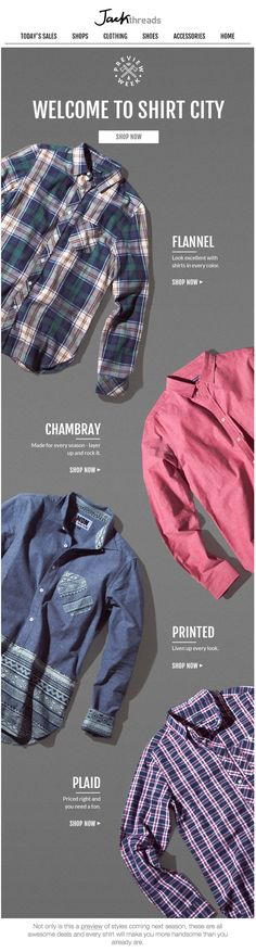 Jack Threads : Laydown + Product Details