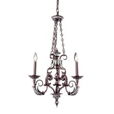 View the Eurofase Lighting 16525 Charlington 3 Light Candle Style Mini Chandelier at LightingDirect.com.  Master closet her side.