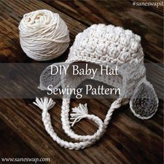 #Saneswapi #styleityourself #babyhat #babyhatknittingpatterns #sewingpattern #infanthats Baby hats are some of the quickest, easiest things out there to knit. They can be great stash busters. Here are some tips for knitting a fabulous baby hat at www.saneswap.com