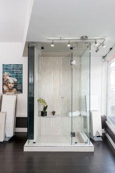 Steam Shower Eclipse Glass-Port Moody Showroom