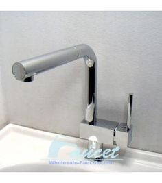 Single Handle Pull Out Kitchen Faucet 0477