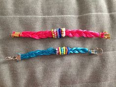 DIY tuto DIY // Bracelets colorés