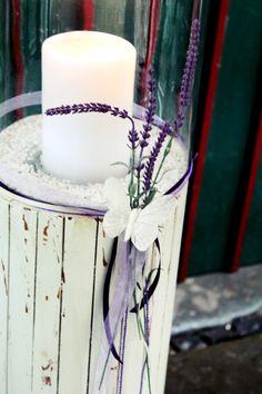 Hochzeit Wedding Lila Flieder Lavendel Dekoration Www