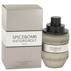 Spicebomb Fresh By Victor & Rolf Eau De Toilette Spray 3 Oz