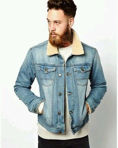 Vintage LEE Denim Sherpa Jacket  Fur Lined  - M Urban Outfitters Toast Hipster