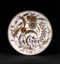 Plate Factory: Minton(s) (British, Stoke-on-Trent, 1793–present) Purveyor: Wilhelm and Graef, New York Date: 1881