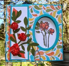 My Tanglewood Cottage: Wacky Watercooler April Fools Blog Hop.  Peek-a-boo card, Bloom with Hope, Stampin' Up!