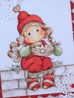 Tilda with Saffron Buns Copic Coloring Card Kit
