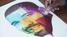 Drake Ballpoint Pen Drawing - Hotline Bling - Freehand Art