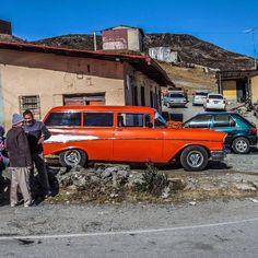 Chevy Bel Air SW, en el Pico el Águila