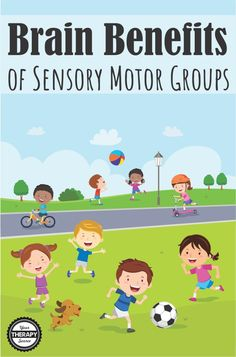 Brain Benefits of Sensory Motor Groups may help with executive functions, coordination skills and higher level motor tasks.