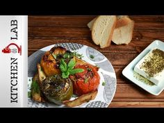 Greek stuffed vegetables with rice and ground meat by Greek chef Akis Petretzikis. A very popular, dleicious, traditional Greek recipe for stuffed vegetables! Vegetable Chips, Vegetable Recipes, Gemista Recipe, Greek Stuffed Peppers, Best Greek Food, Greek Dinners, Greek Cooking, Cooking Food, Ground Meat Recipes