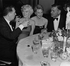 Marilyn Monroe, Clark Gable, Charles K. Feldman, and Jean Howard ...