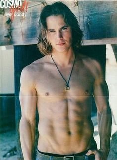 My newest male obsession...Taylor Kitsch. <3