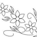 Resultado de imagen para diseños para bordar a mano sencillos Couture, Embroidery Patterns, Feather, Tattoos, Anime, Google, Stamps, Baby Embroidery, Craft