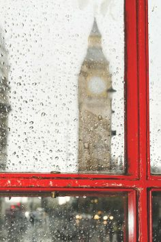 Big ben and red phone cabine. Rainy Photos Big ben and red phone cabine in London. Rainy day by Deyan Georgiev Big Ben, Photos Originales, No Rain, Photos Voyages, London Calling, British Isles, Rainy Days, Rainy Morning, Oh The Places You'll Go