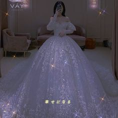 Prom Girl Dresses, Formal Dresses, Wedding Dresses, Sparkly Gown, Blink Blink, Rich Girl, Girls Life, Bridal Outfits, Mochi