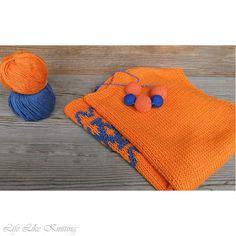 """Life Like Knitting: Топ з українським орнаментом """"Пчілка"""""""